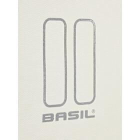 Basil Urban Load Dubbele Bagagedragertas 48-53l, groen/wit